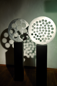 Uta Feiler, ohne Titel, Aluminiunguss