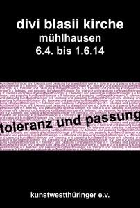 p Plakat toleranz